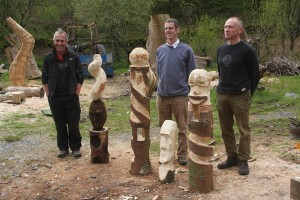 Chainsaw carving workshop
