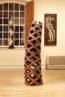 elm wood carving sculpture art stencil