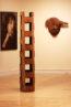 Pattie Smith stencil art sculpture woodwork carving cedar sequoia