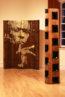Miles Davis sculpture stencil art