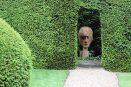 face head hedge open garden sequoia redwood biddestone manor