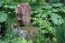 garden art sequoia head biddestone shot blasted